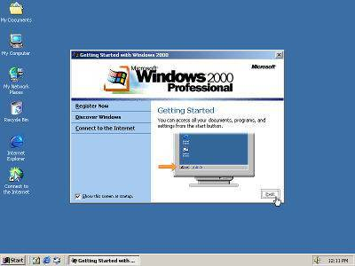 Praca administrator Windows 2000