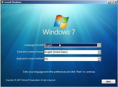 Praca administrator Windows 7