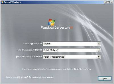 Praca administrator Windows Server 2008
