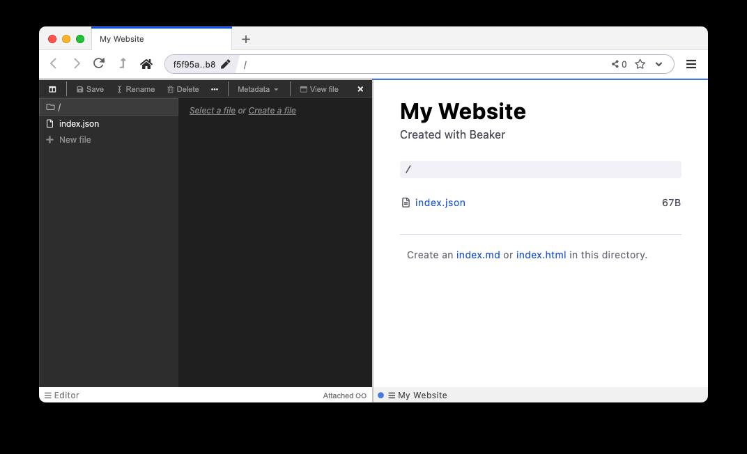 Beaker Browser