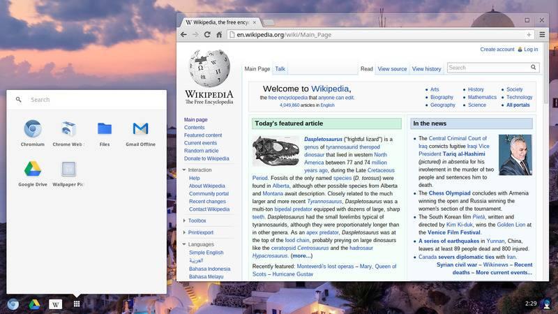 Chrome OS jako platforma dla powerusera i programisty