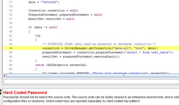 Dlaczego zamieszczenie hasła w kodzie jest złe