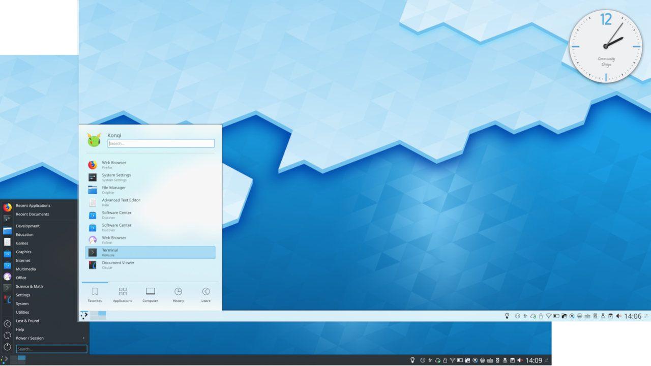 KDE Plasma 5.21