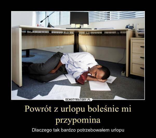 HR po pracy VI