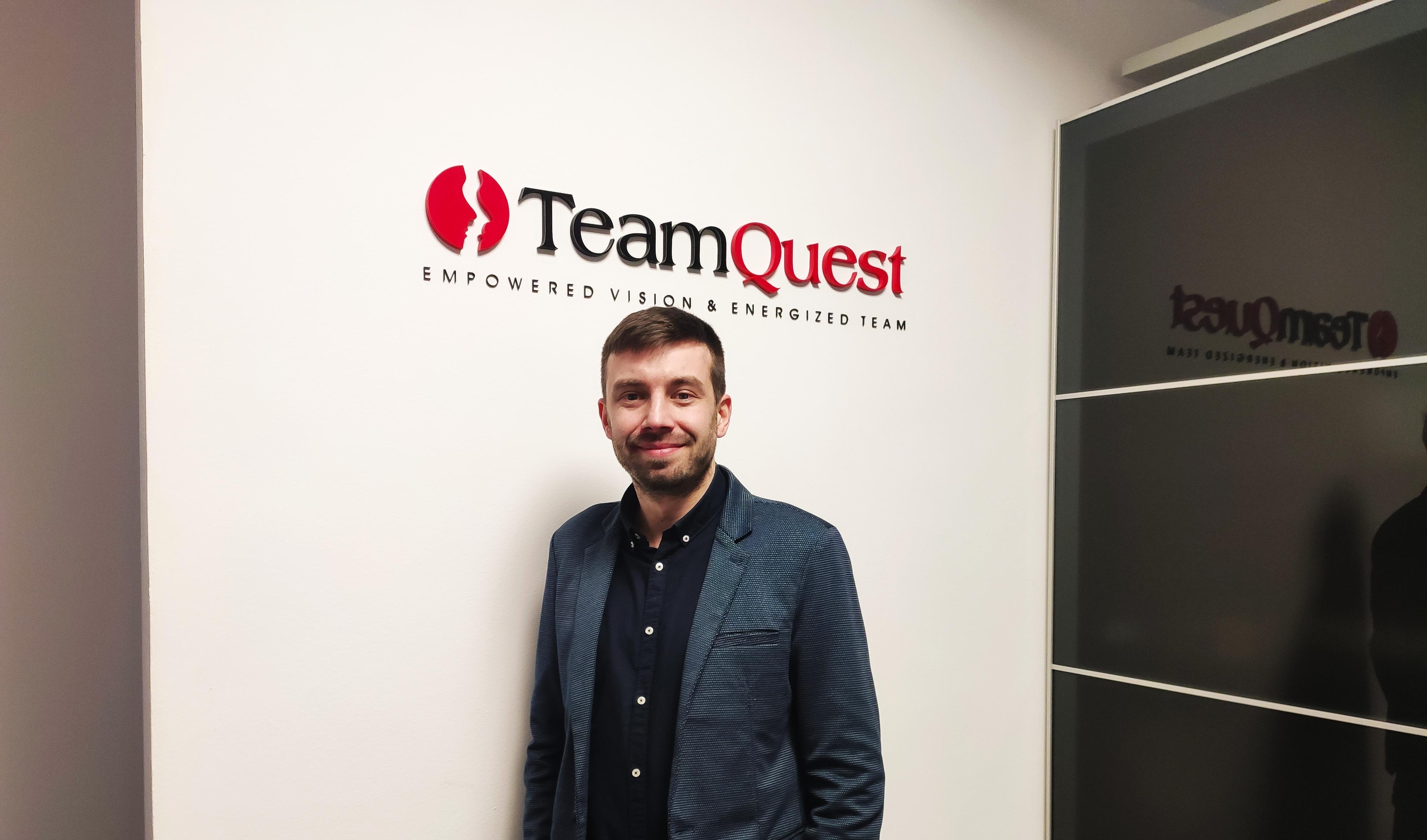 Specjaliści TeamQuest - Rafał Drozd