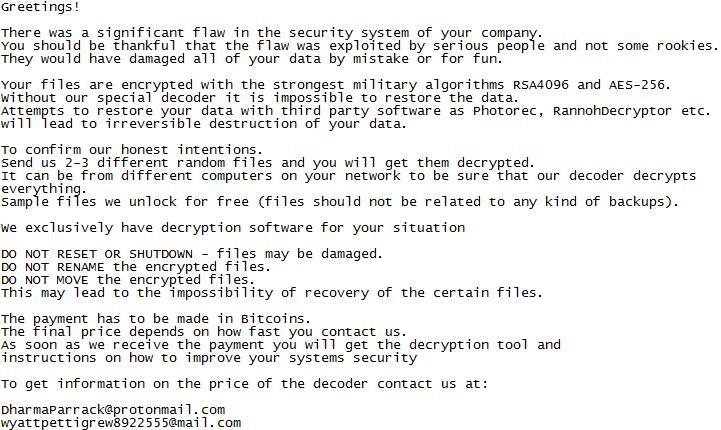 Malware, które zaraz zainstaluje Ci ransomware